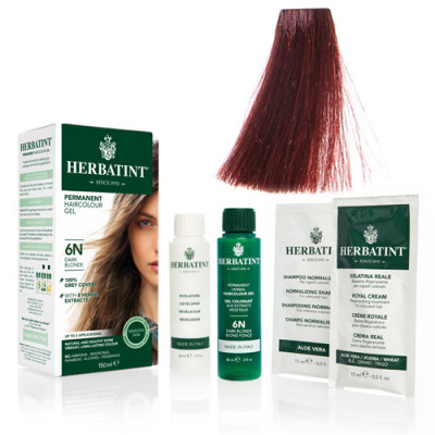 Herbatint FF 1 hårfarve Henna Red - 135 ml.