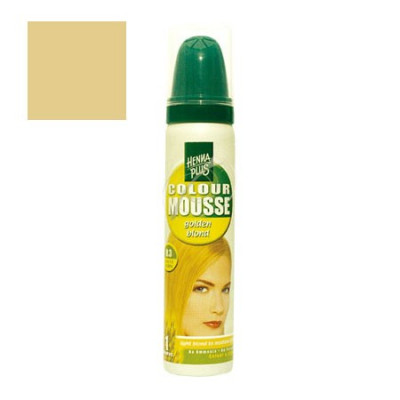 Henna Plus 8.3 Colour Mousse Golden Blond (75 ml)