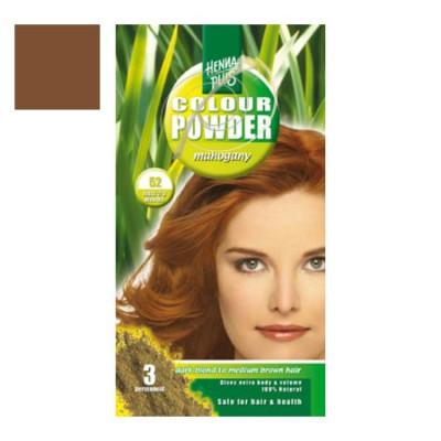 Hennaplus 52 colour powder mahogany 100 gr.