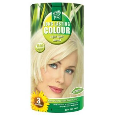 Hennaplus 10.00 hårfarve highlight blond.