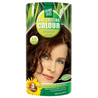 Hennaplus 5.35 hårfarve chocolate brown (40 ml)