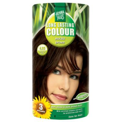 Hennaplus 4.03 Hårfarve Mocha Brown (40 ml)