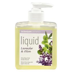 Sodasan Håndsæbe Flydende Lavendel (300 ml)