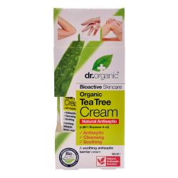 Dr. Organic Tea Tree Antiseptisk Cream (50 ml)