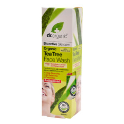 Dr. Organic Face Wash Tea Tree (200 ml)