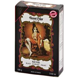 Henna Pulver Sort (100 gr)