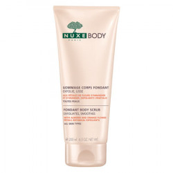 Nuxe Body Fondant Body Scrub - Almond og Orange Flower (200 ml)