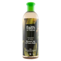 Faith in Nature Alge Ekstrakt Showergel (400 ml)