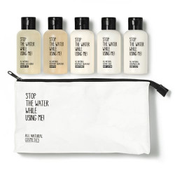 STW Travel Kit 5 x 60 ml hand balm, bodylot., condit., shampoo, shower gel