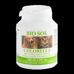 Bio Sol Chlorella til vet. brug 300 Tab