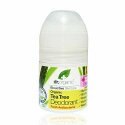 Dr. Organic Tea Tree Deodorant Roll-on (50 ml)