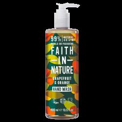 Faith In Nature Håndsæbe Grape & Orange (300 ml)