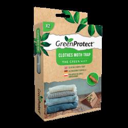 Green Protect Klædemølfælde (2 stk)