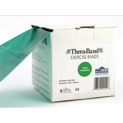 Thera-Band elastisk bånd 45m (Grønn - Middel)s