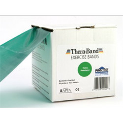Thera-Band elastisk bånd 45 m (Sort - Hard)t