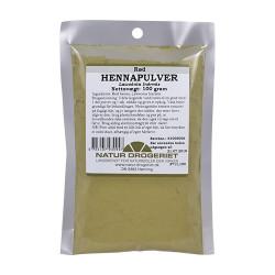 Natur Drogeriet Hennapulver rød (100 gr)