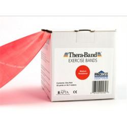Thera-Band elastisk bånd 45m (Rød - Lett)