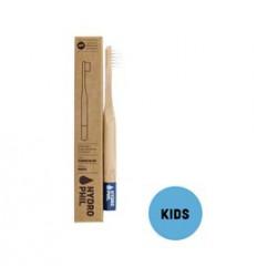 Oganic Beauty Supply Bambus Tandbørste til børn (blå)